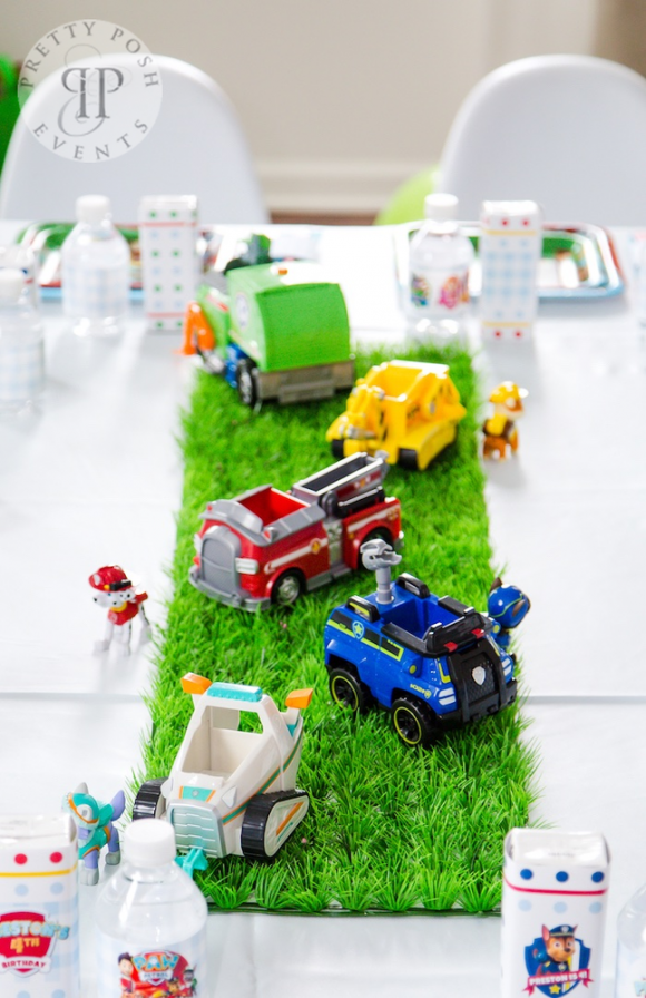 Preston's Chic Paw Patrol Party | CatchMyParty.com