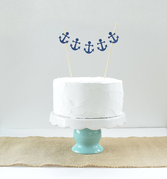 Nautical cake topper | CatchMyParty.com