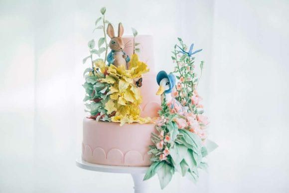 Beatrix Potter 1st birthday party | CatchMyParty.com