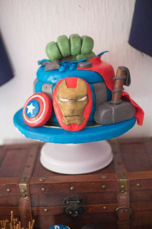 Avengers Birthday Party | CatchMyParty.com
