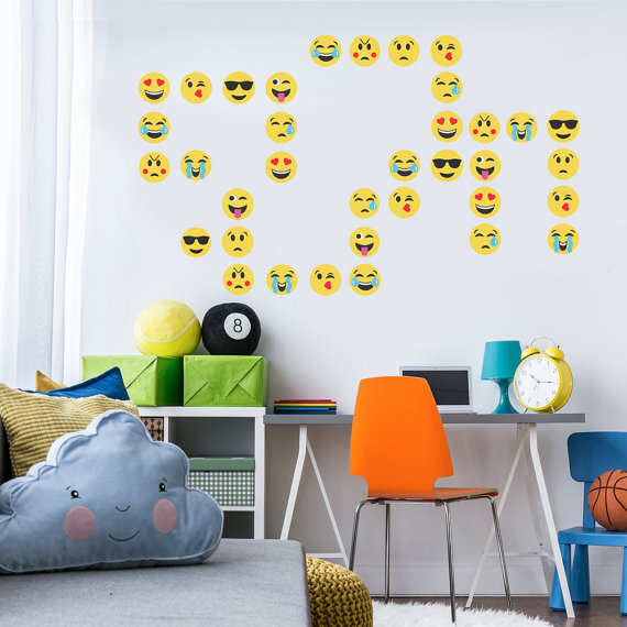 Emoji Backdrop Decals | CatchMyParty.com