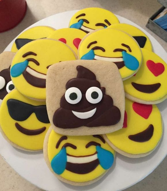 Emoji Cookies | CatchMyParty.com