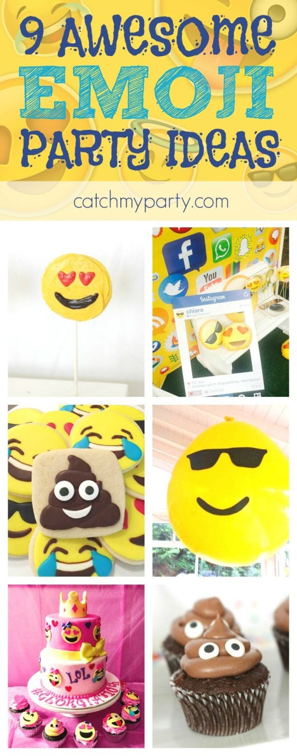 Awesome Emoji Party Ideas | CatchMyParty.com