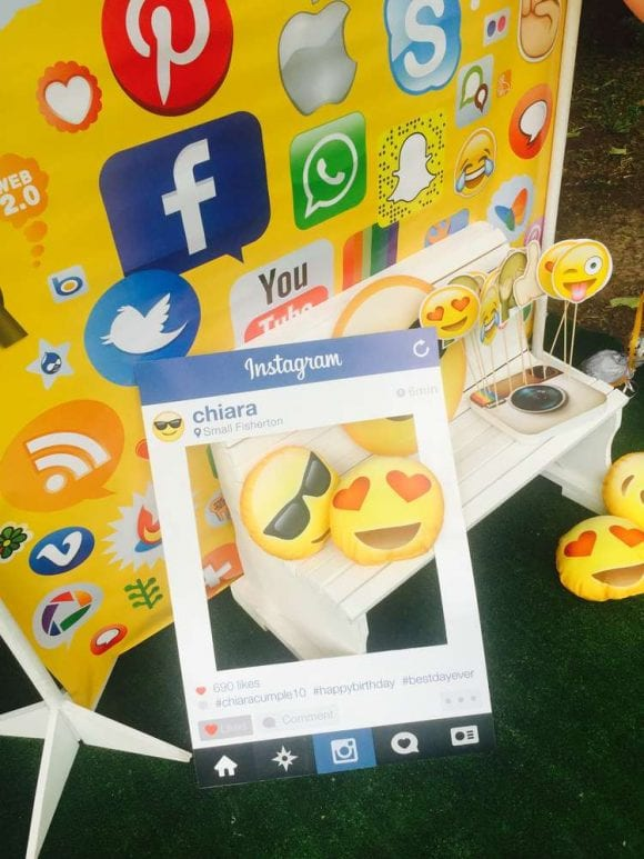 Emoji Photo Booth props | CatchMyParty.com