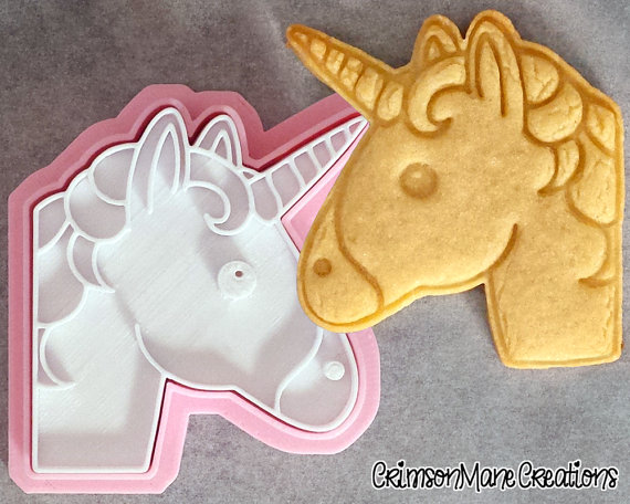 Unicorn Cookie Cutter | CatchMyParty.com