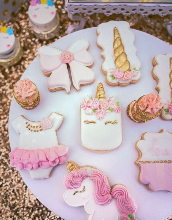 Unicorn Cookies | CatchMyParty.com