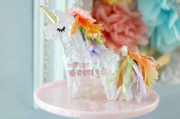 Unicorn Pinata | CatchMyParty.com