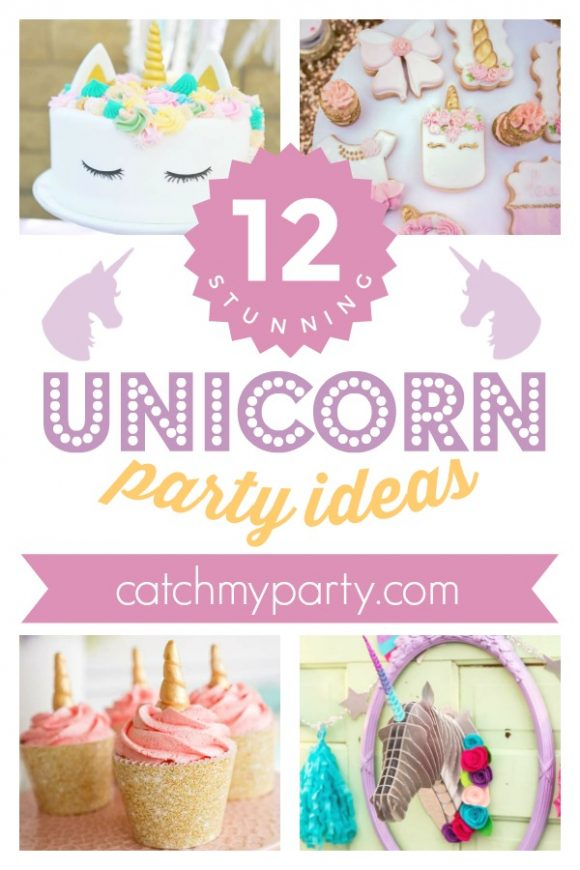 12 Stunning Unicorn Party Ideas | CatchMyParty.com