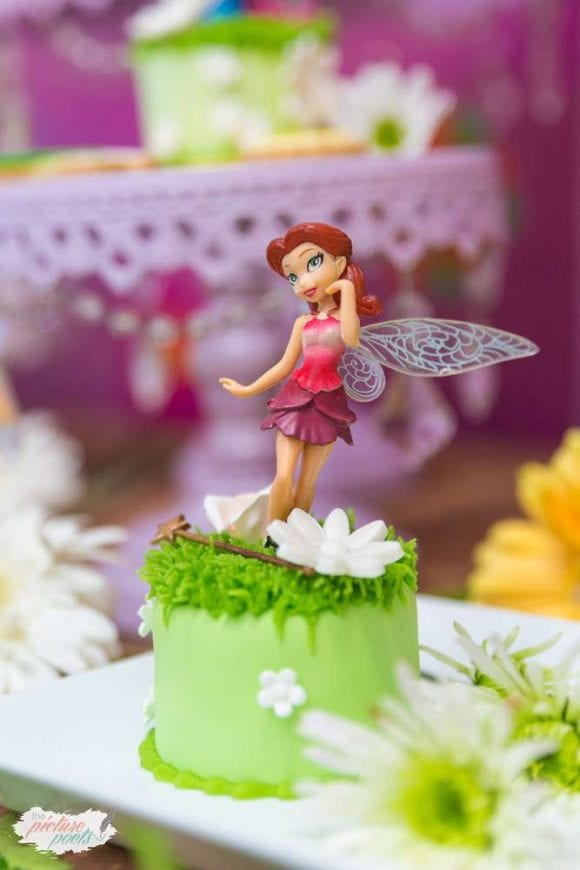 Tinkerbell birthday party | CatchMyParty.com
