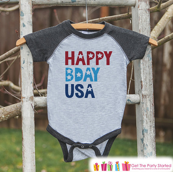 4th of July Onesie | CatchMyParty.com