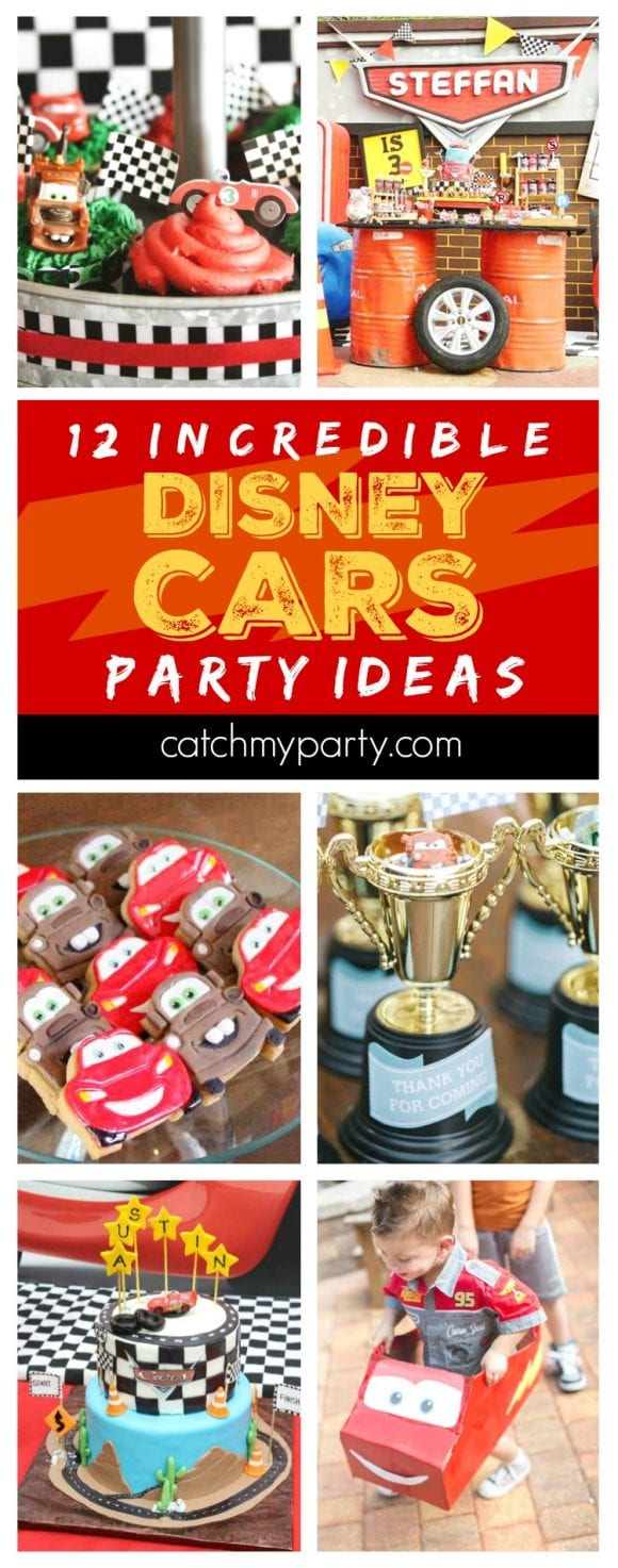 12 Incredible Disney Cars Party Ideas | CatchMyParty.com