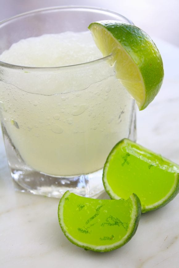 Ready to Serve Skinny Margarita Jello Shots | CatchMyParty.com