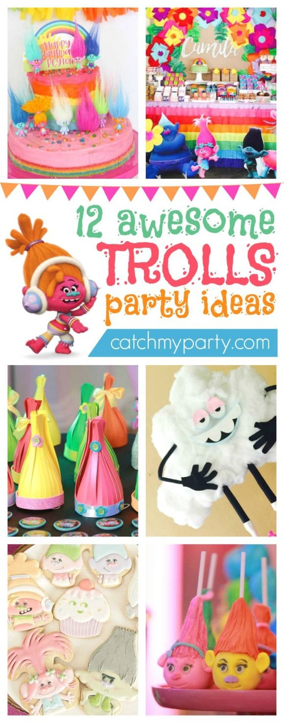 12 Awesome Trolls Party Ideas | CatchMyparty.com
