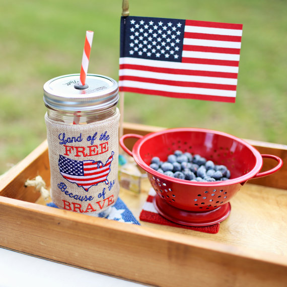 July 4th Tumbler | CatchMyParty.com