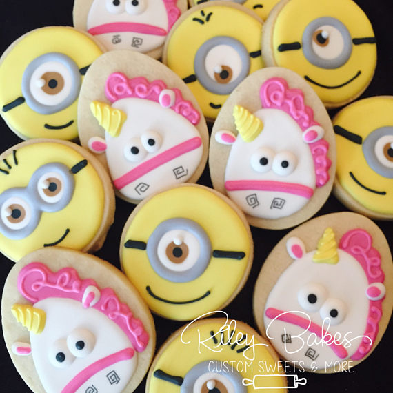 Minion Cookies | CatchMyParty.com