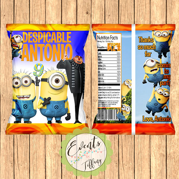 Minions Party Favor | CatchMyParty.com