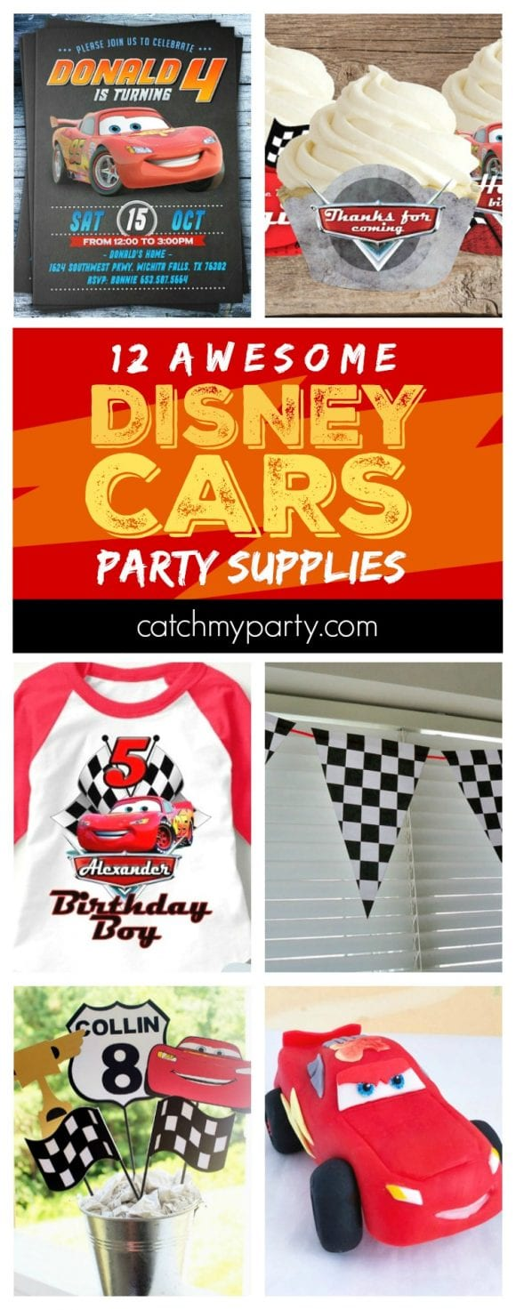 Disney Cars Party Supplies | CatchMyparty.com