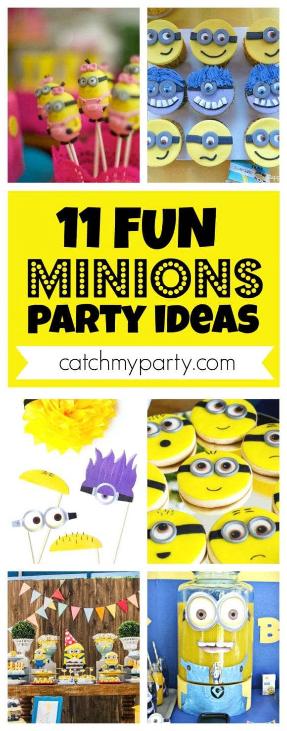 11 Fun Minions Party Ideas | CatchMyParty.com