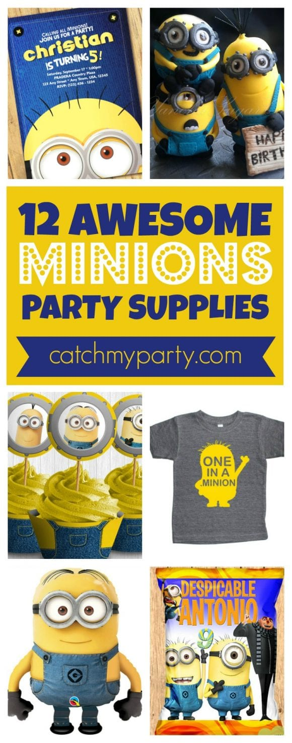 Minions Party Supplies | CatchMyparty.com
