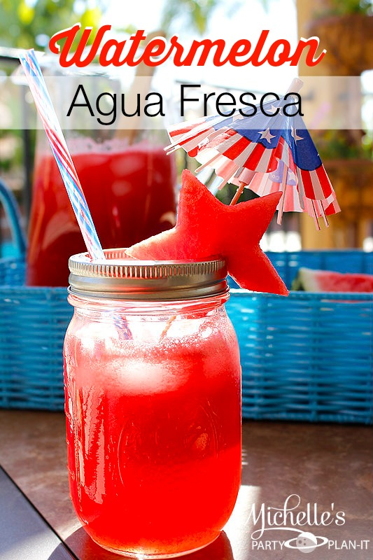 Watermelon Agua Fresca | CatchMyParty.com