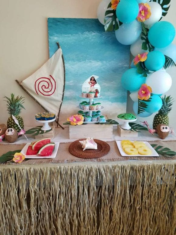 Tropical Moana Party | CatchMyParty.com