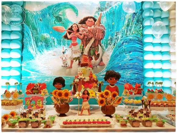 Luanne's Moana 7th Birthday Party | CatchMyParty.com