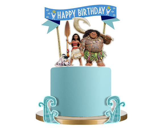 Moana Cake Topper | CatchMyParty.com
