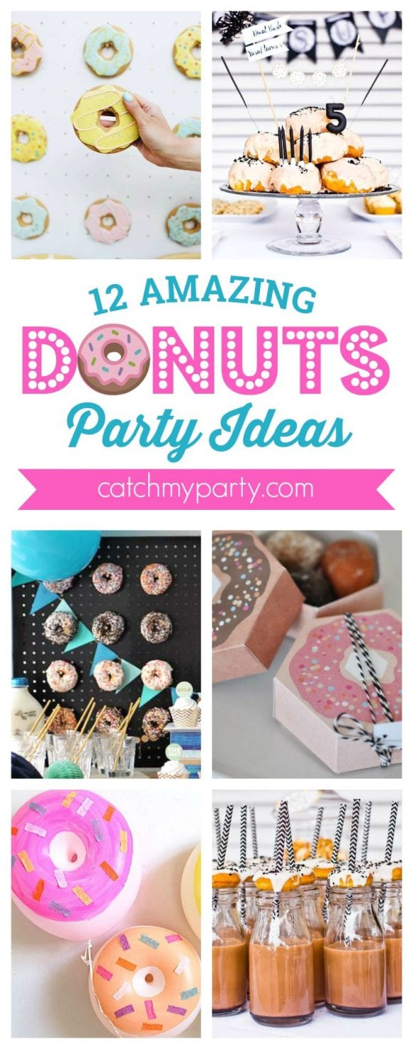 12 Amazing Donuts party ideas I CatchMyParty.com