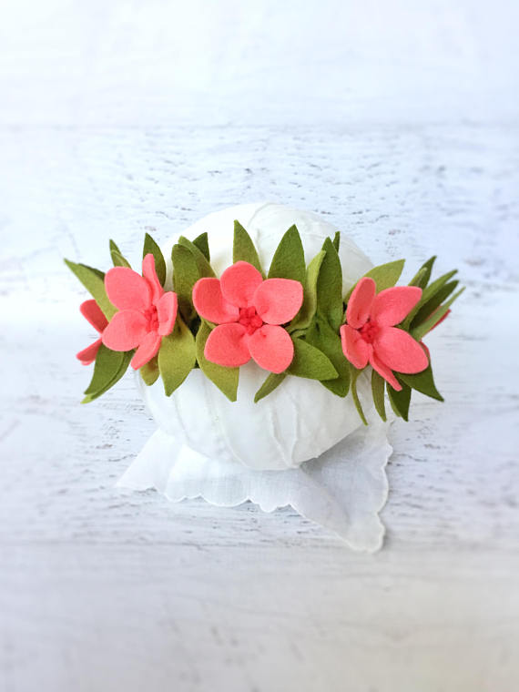 Moana Floral Headband | CatchMyParty.com