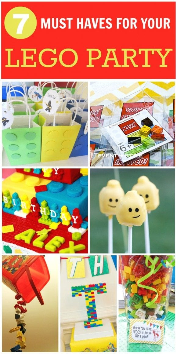 7 Must Have for your Lego Party | CatchMyParty.com