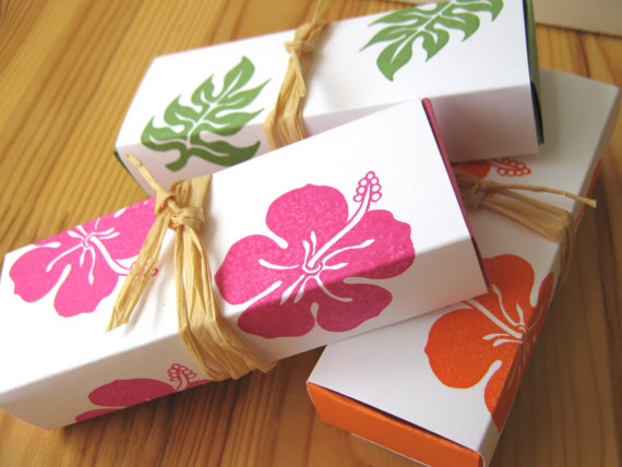 Moana Party Favor Box | CatchMyParty.com