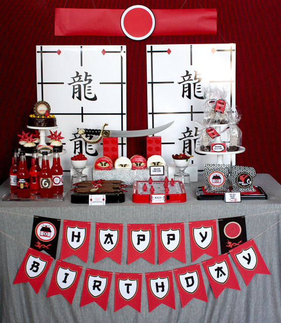 {TRENDS} Ninjago Parties | CatchMyParty.com