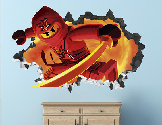 Lego Ninjago Dessert Table Backdrop | CatchMyParty.com