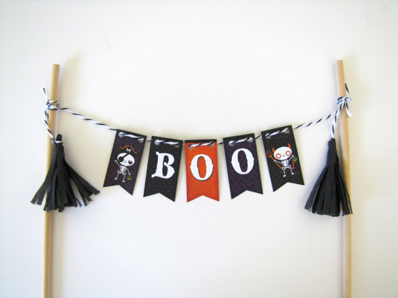 Boo Cake Topper | CatchMyParty.com