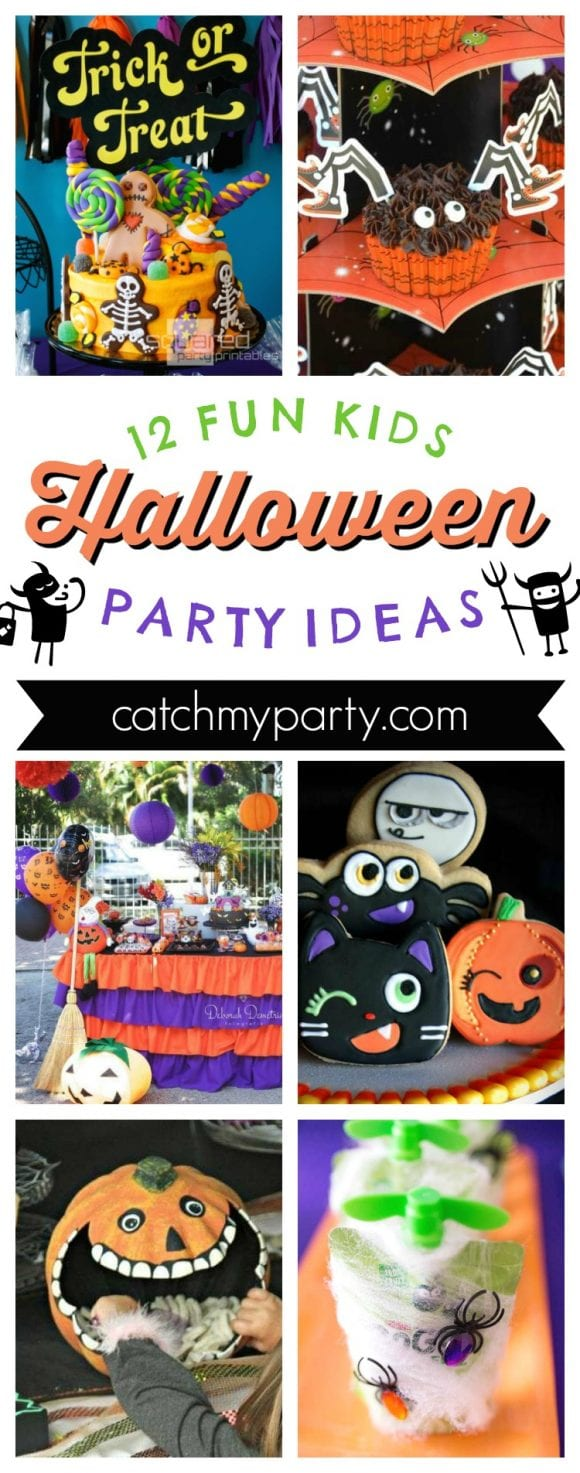 12 Fun Kids Halloween Party Ideas | CatchMyParty.com