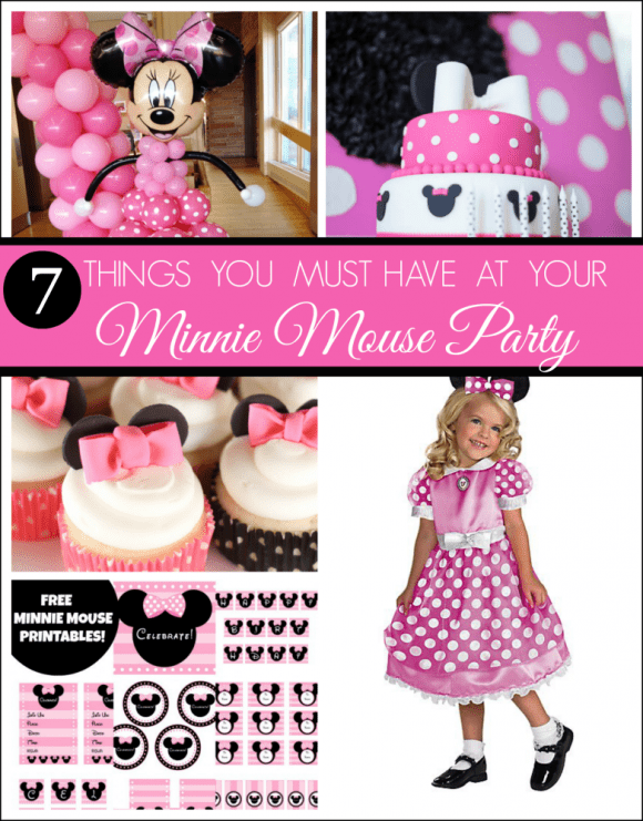 7 Things You Must Have at Your Next Minnie Mouse Party! | CatchMyParty.com