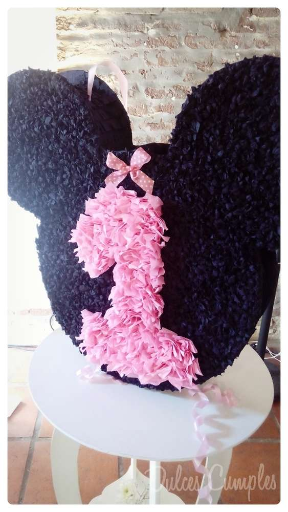 Minnie Mouse Pinata | CatchMyParty.com