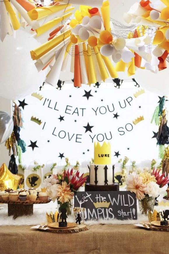 Wild One dessert table | CatchMyParty.com