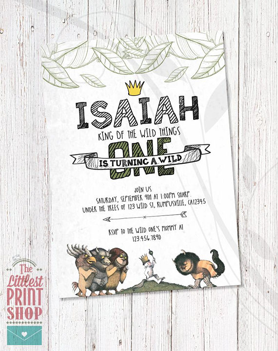 Wild One party Invitation | CatchMyParty.com