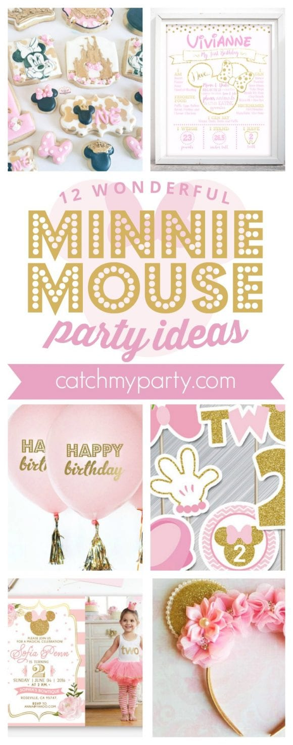 12 Wonderful Pink Minnie Mouse Party Supplies | CatchMyParty.com