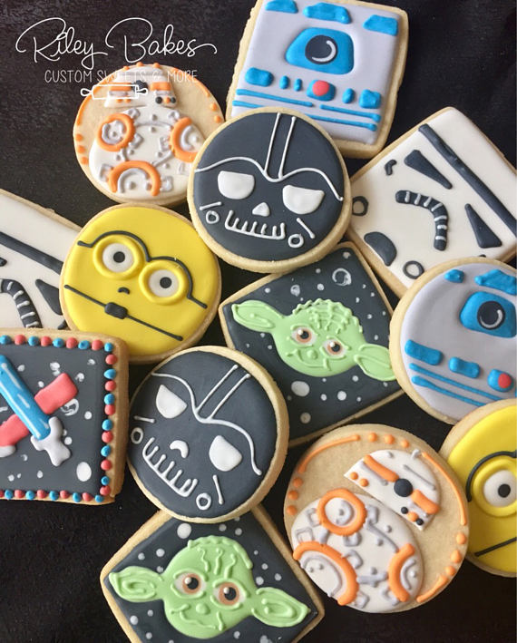 Star Wars Cookies | CatchMyParty.com