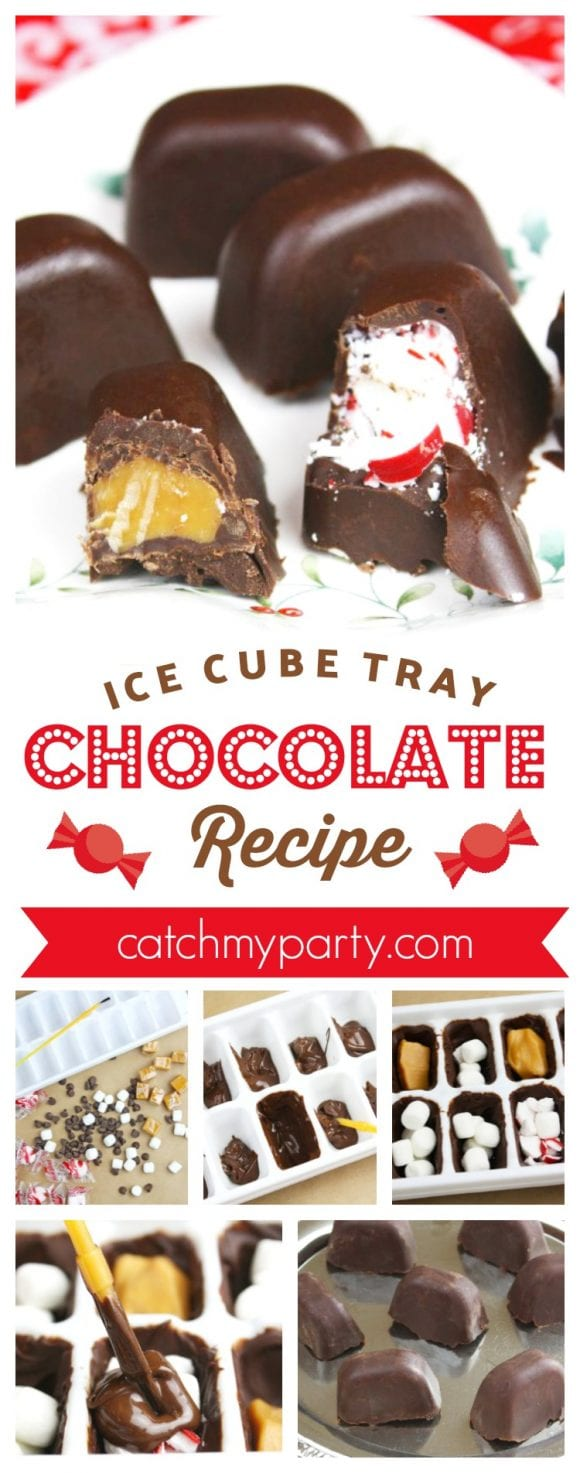 Ice Cube Tray Chocolates Recipe | CatchMyParty.com