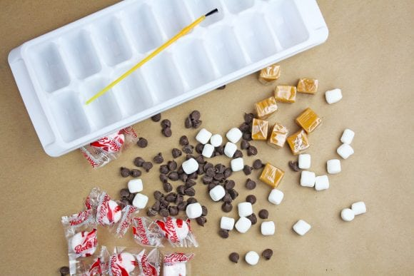 Ice Cube Tray Chocolates Ingredients | CatchMyParty.com