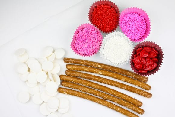 Valentine Pretzels Ingredients | CatchMyParty.com