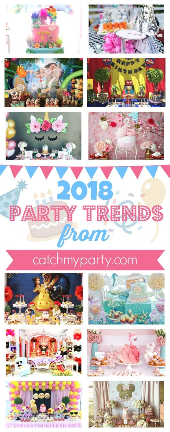 2018 Party Trends | CatchMyParty.com