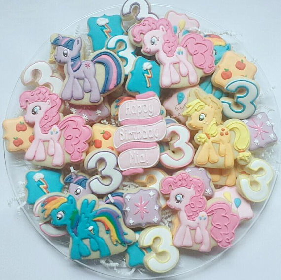 My Little Pony Cookies | CatchMyParty.com