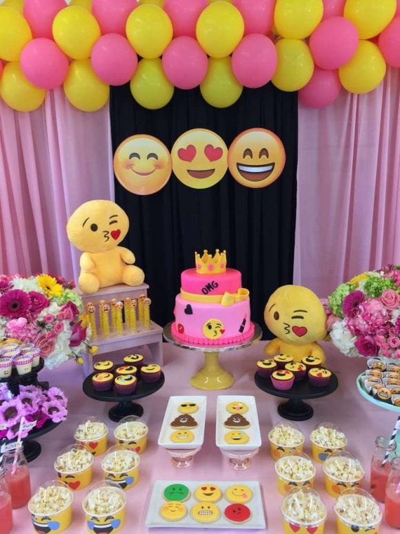 Emoji Party | CatchMyParty.com