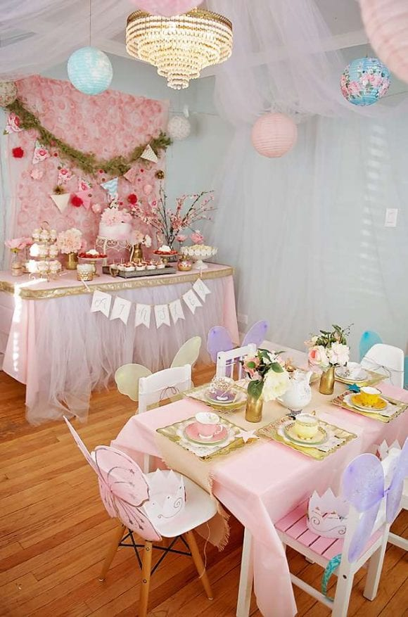 Fairy Princess Tea Party | CatchMyParty.com