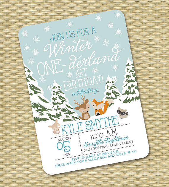 Winter party Invitation | CatchMyParty.com