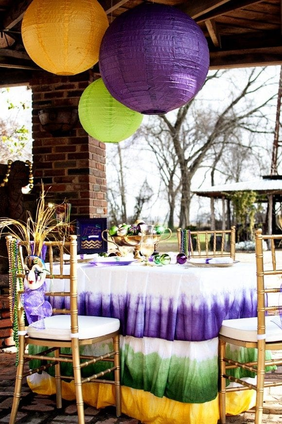 Mardi Gras Party Ideas + Free Printables! | CatchMyParty.com